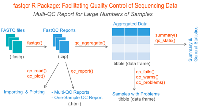 Quality Control of Sequencing Data • fastqcr